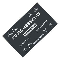 6 watt single outputs