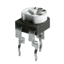 6mm carbon semi fixed potentiometer