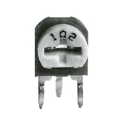 6mm Ceramic Semi Fixed Potentiometers