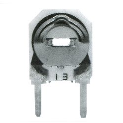 6mm ceramic semi fixed potentiometer