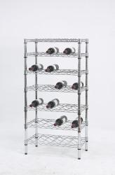 7-tier wine shelves racks