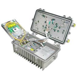 870 and 900 mhz output optical node