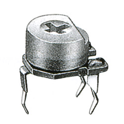 8mmmetal glaze trimmer potentiometer
