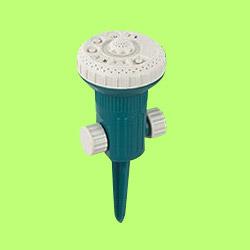 9 pattern sprinkler with shower center