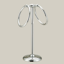 double towel ring table stands