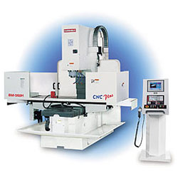 cnc rigid bed mill, cnc milling machine