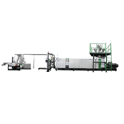 Excellent Degassing and Filtering Pelletizing Line