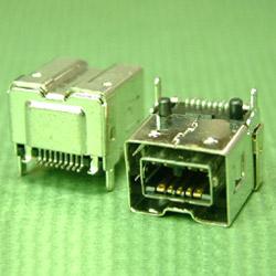 IEEE 1394 card connectors