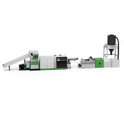 Mini Shredder Extruder Recycling Pelletizing Line