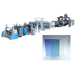 PC ABS sheet making machine