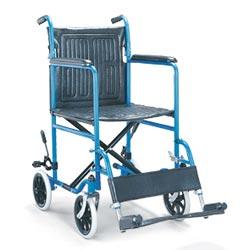 standard steel wheelchair
