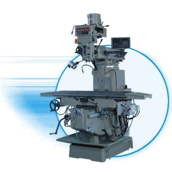 Step Speed Head Vertical Milling Machine