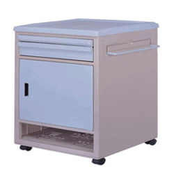abs plastic bedside cabinets