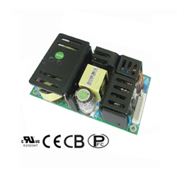 ac dc open frame switching power supply 125 watts single outputs