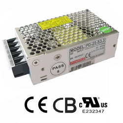 ac switching power supply 25 watts single outputs