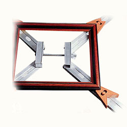 adjustable four corner clamp