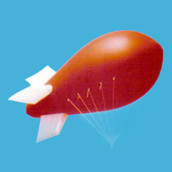 advertising helium blimp