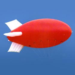 advertising helium blimp