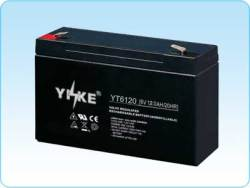 agm 6v12ah battery