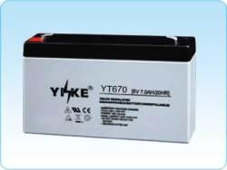 agm 6v7ah batteries