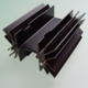 Aluminium Extruded Extrusion Heat Sink (to218)
