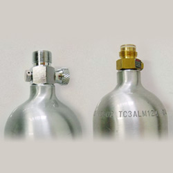 aluminum alloy refillable co2 cylinders
