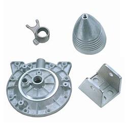 aluminum and zinc die casting component