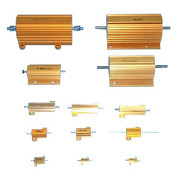 aluminum housed wirewound resistors