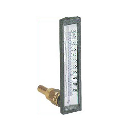 angular board type thermometers