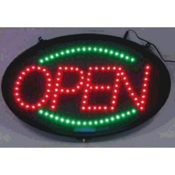 animated led open signs