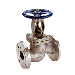 ansi flanged globe valves