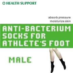 anti bacterium socks for athlete's foot