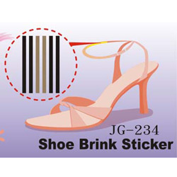 anti rubbing shoe rim tpr gel insoles sticker