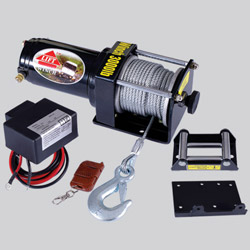 atv and utv winch