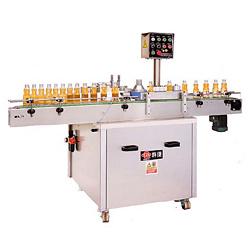 auto bottle labeller machine