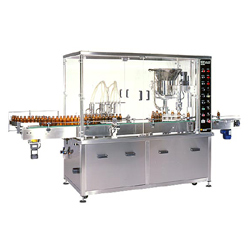 auto filling cap sealing machine