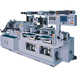 auto flat-bed label printing machine