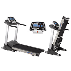 auto incline motorized treadmill
