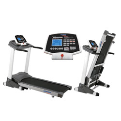 auto incline motorized treadmills