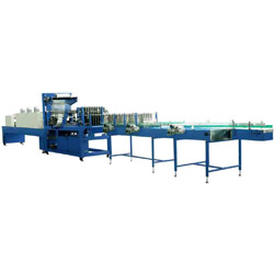 auto sealing and shrinking packager