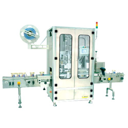 auto shrinkable label inserting machines