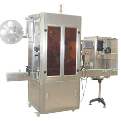 auto shrinkable labeling machine