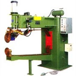 automatic air-pressure horizontal rolling welder for bottom cover