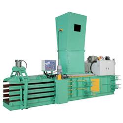 automatic baling press