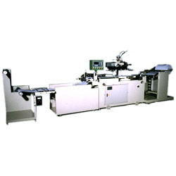 CNC full automatic continuous rolling screen printing machine, screen printing machine, printing machine, printing machinery, screen printing machinery.
