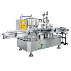 automatic filling and capping machines