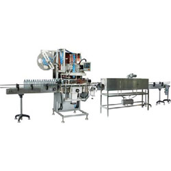 automatic lable shrinking package machines