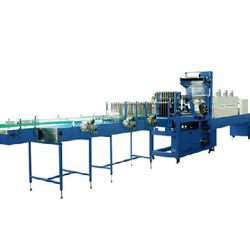 automatic linear shrink film packaging machine