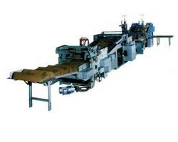 automatic sewing line for cement bags