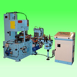 automatic vertical flanging machine